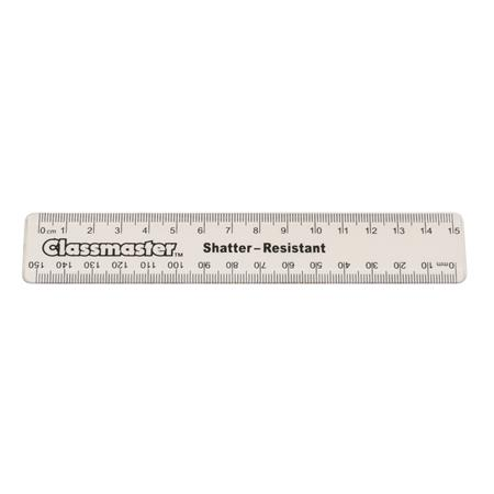 product image:15cm Clear Plastic Ruler