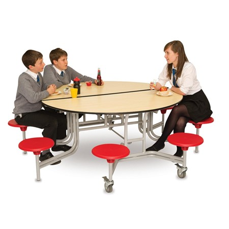 "product image:""Folding Table Seating Unit - Round, 685mm"""